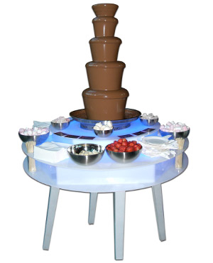 Chocolate Fountain catering hire