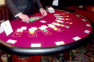 Blackjack Table for hire