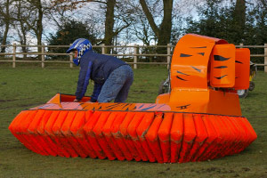 Hovercraft for hire