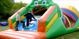 Inflatables games to hire for parties