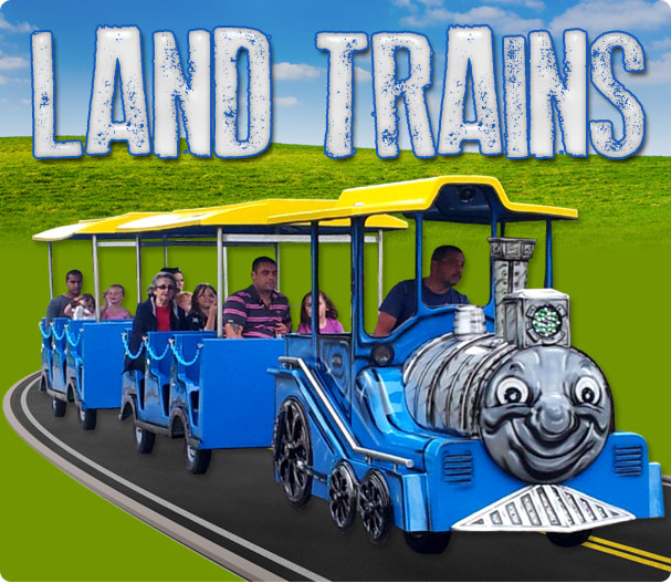 land train hire for outdoor events