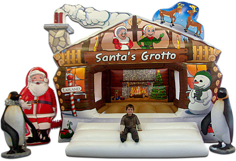 santas grotto for hire