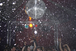 snow shower machine hire